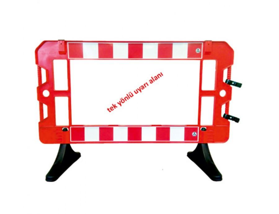Levhalı Güvenlik Barikatı 12512 FB R
