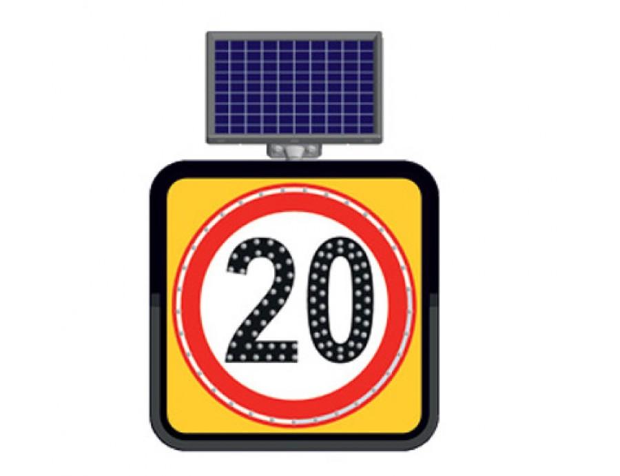 Solar Ledli Yol Bakım Levhaları 11843 FL