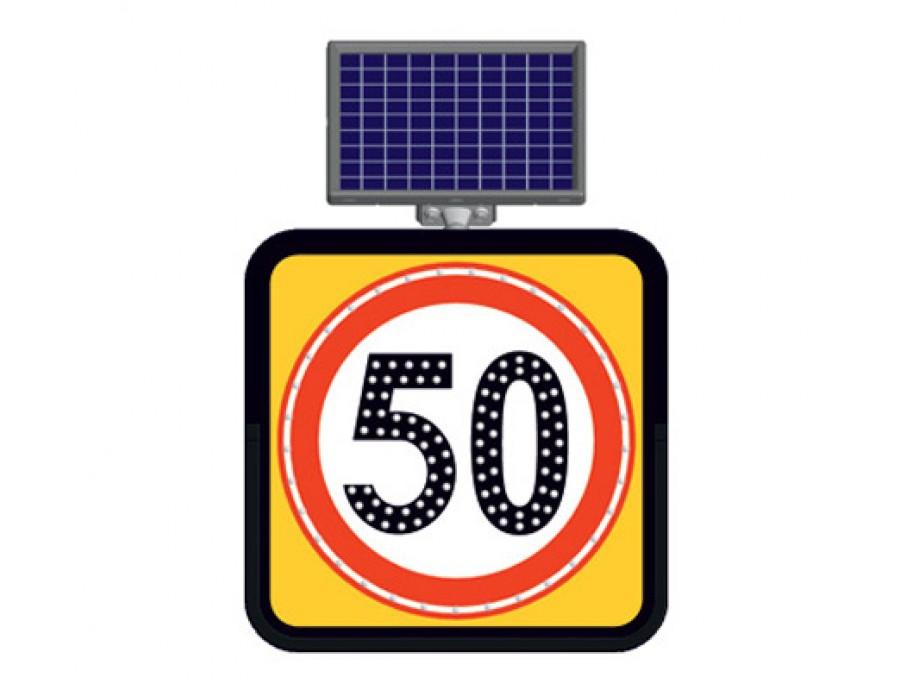 Solar Ledli Yol Bakım Levhaları 11845 FL