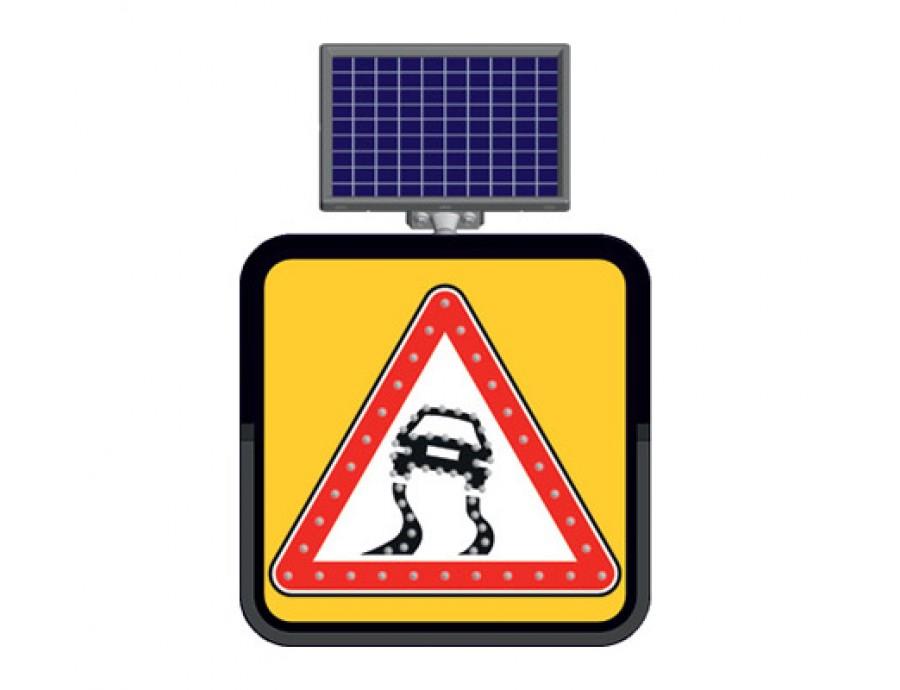 Solar Ledli Yol Bakım Levhaları 11800-32 FL