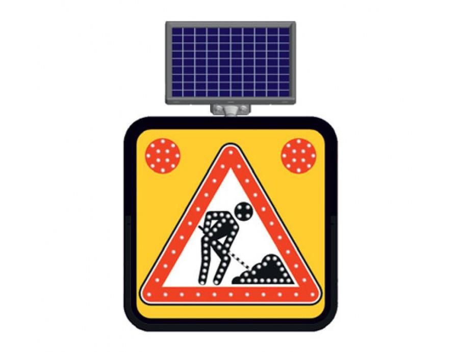 Solar Ledli Yol Bakım Levhaları 11835 FL