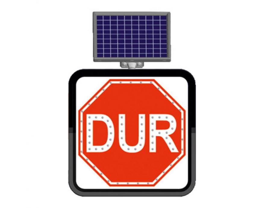 Solar Flaşörlü Ledli Trafik Levhaları 11846 FL