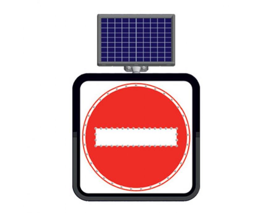 Solar Flaşörlü Ledli Trafik Levhaları 11800-37 FL