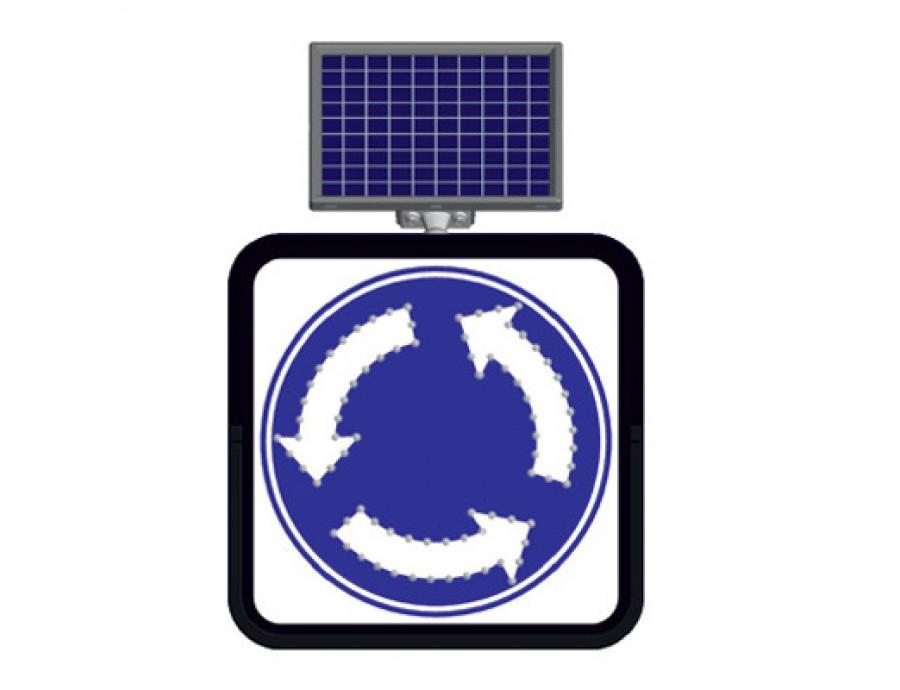 Solar Flaşörlü Ledli Trafik Levhaları 11849 FL