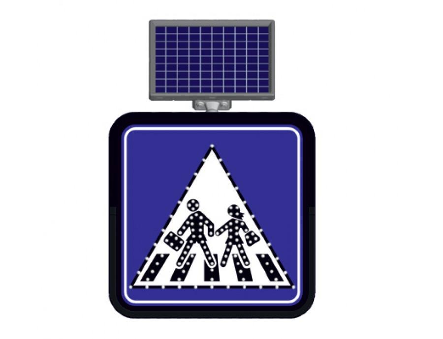 Solar Flaşörlü Ledli Trafik Levhaları 11841 FL
