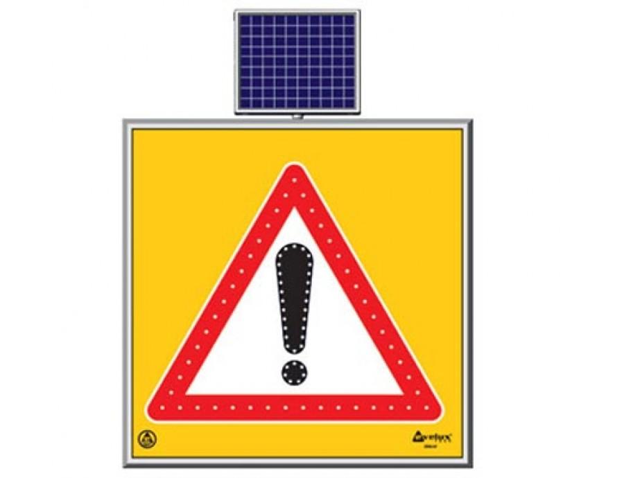 Solar Ledli Yol Bakım Levhaları 11764 S-LD