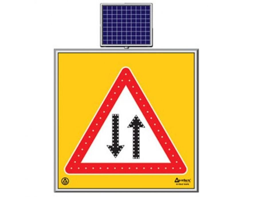 Solar Ledli Yol Bakım Levhaları 11762 S-LD
