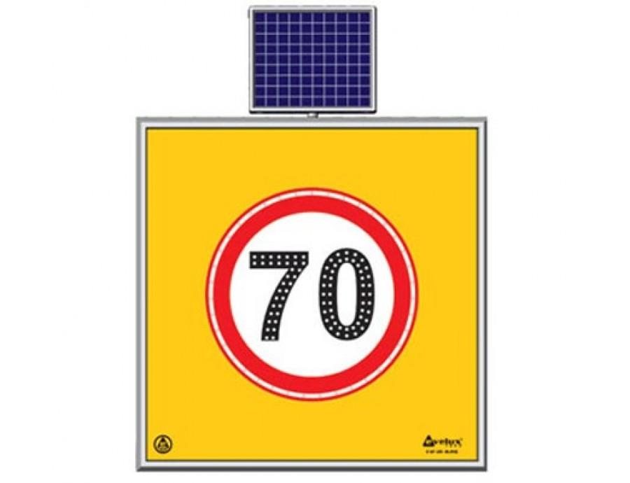 Solar Ledli Yol Bakım Levhaları  11734 S-LD