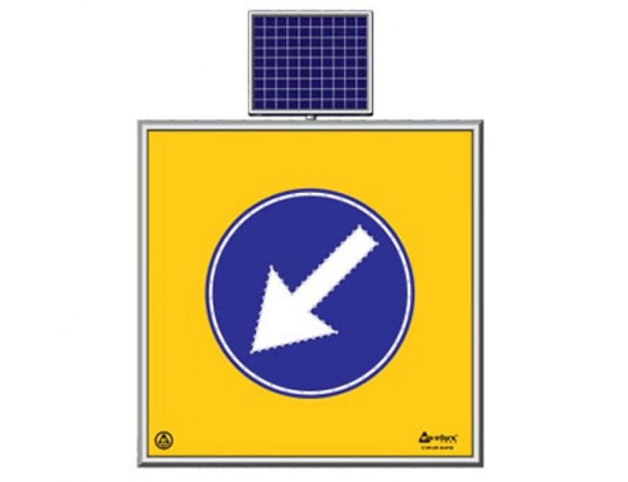 Solar Ledli Yol Bakım Levhaları 11740 S-LD
