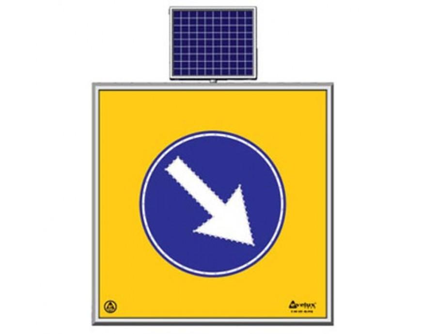 Solar Ledli Yol Bakım Levhaları 11742 S-LD