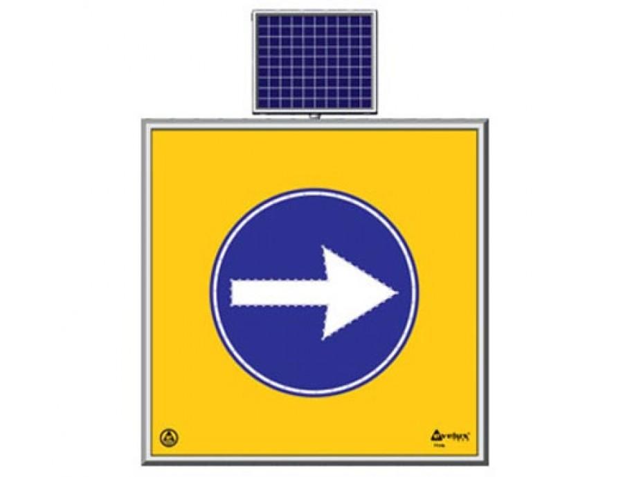 Solar Ledli Yol Bakım Levhaları 11748 S-LD
