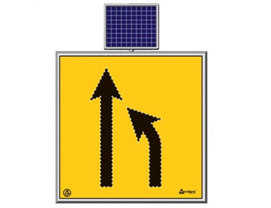 Solar Ledli Yol Bakım Levhaları 11772 S-LD
