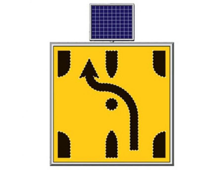Solar Ledli Yol Bakım Levhaları 11724 S-LD