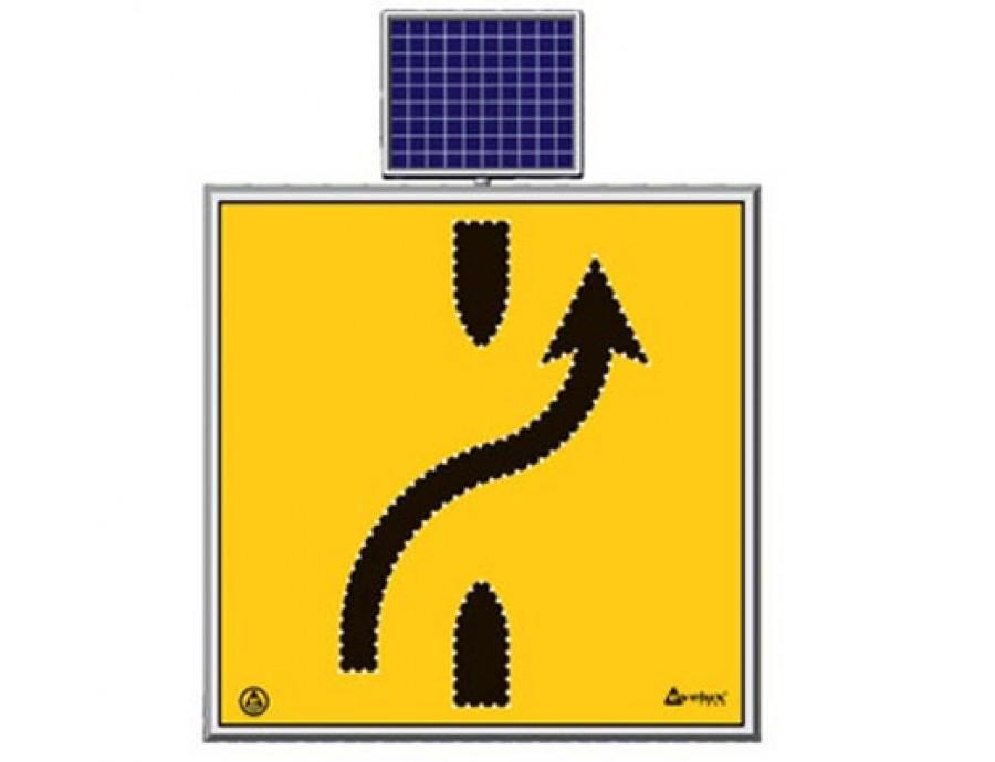 Solar Ledli Yol Bakım Levhaları 11722 S-LD