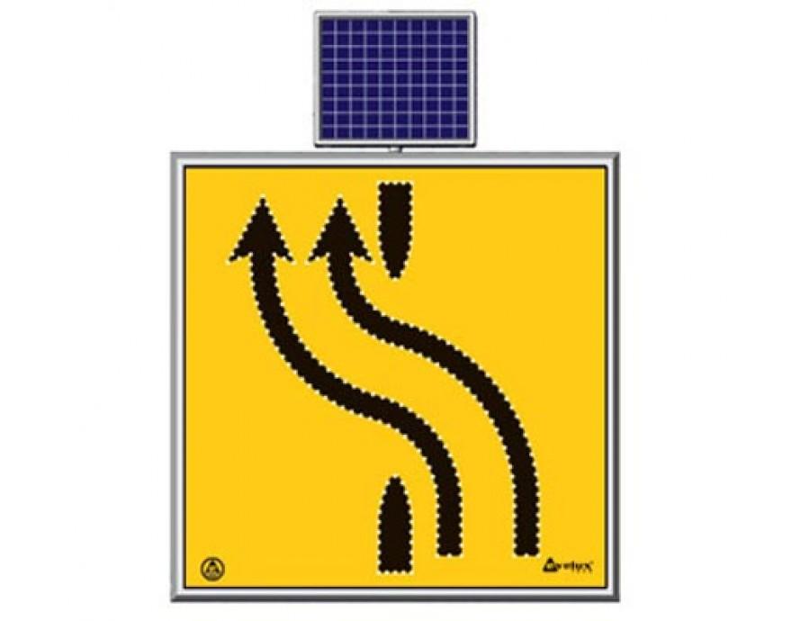 Solar Ledli Yol Bakım Levhaları 11726 S-LD