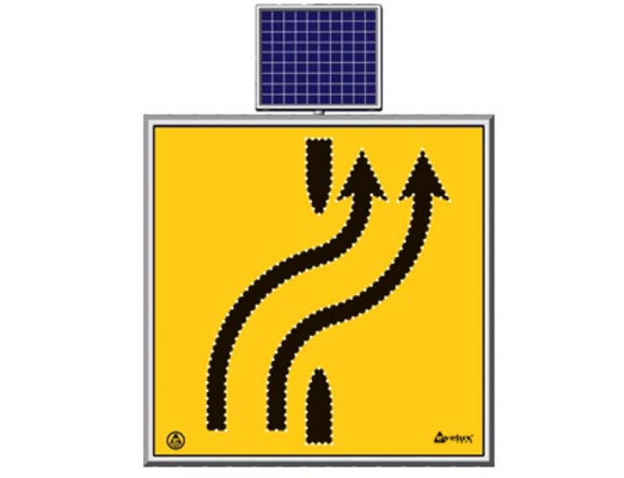 Solar Ledli Yol Bakım Levhaları 11728 S-LD