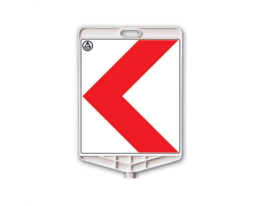 Trafik Levhaları 325 A R  İki yönlü uyarı etiketi