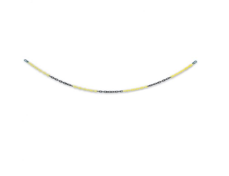 Koni/Delinatör/Dikme Aksesuarları 123 A sarı siyah klipsli kısa zincir 3m